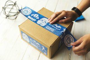 Umpacken Logistik
